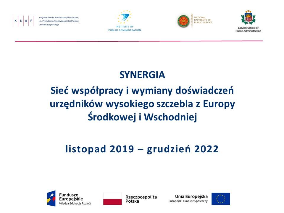 Prezentacja Synergia wstepne slajdy PL