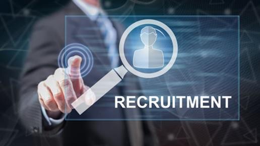 zdjęcie z napisem recruitment