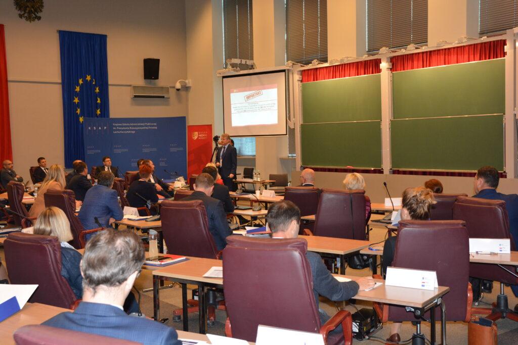 aula i uczestnicy I edycji