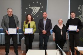 Read more about the article IPA – wręczenie dyplomów SYNERGII uczestnikom z Bułgarii